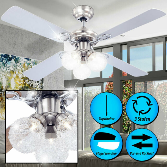 Globo Enigma 329 Ceiling Fan Light 105 Cm Lamp 48386782