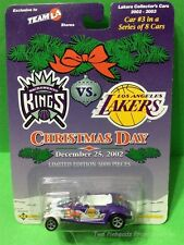 LOS ANGELES LAKERS DIE CAST CAR #3 OF 8  CHRISTMAS DAY 2002 KINGS VS LAKERS