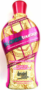 Blondetourage Bronzing Indoor Outdoor Tanning Bed Lotion