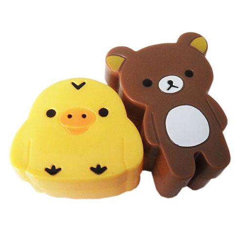 Lovely Bear Chick riz Sandwich Pain Moule cookies Sushi Moule Bento À faire soi-même BLUS