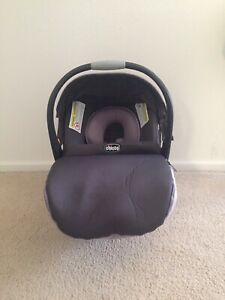 Groovy Details About Pre Owned Chicco Keyfit 30 Zip Infant Car Seat Base Violetta Collection Gmtry Best Dining Table And Chair Ideas Images Gmtryco