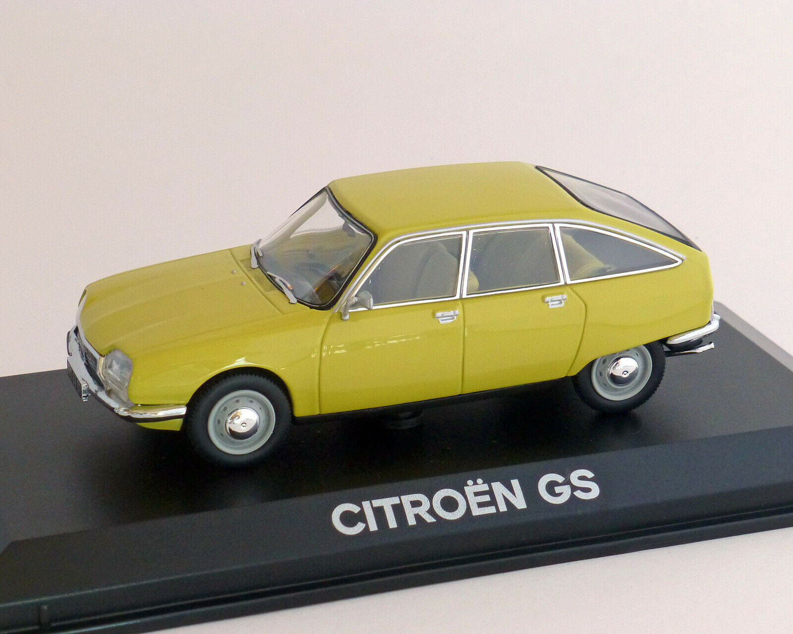Citroen GS 1971, gelb, NOREV 1 43