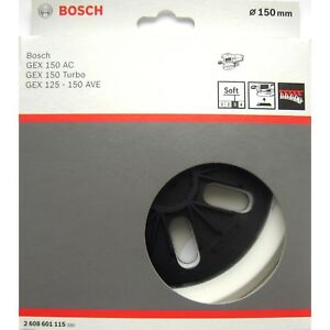 Bosch-SOFT-Sanding-Pad-150mm-Base-Plate-GEX-150-AC-TURBO-125-150-AVE-2608601115