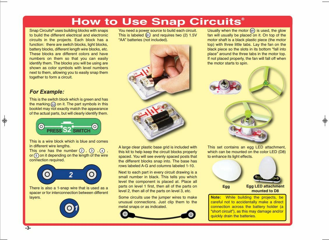 Snap Circuits Jr Select Sc 130 Just Opened Never Ebay Home Electromagnetism