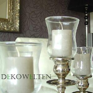 1x porte bougies verre pour bougeoir chandelier embout bougie chauffe plat ebay. Black Bedroom Furniture Sets. Home Design Ideas