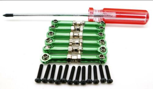Pull Rod Servo Linkage Front Rear Screw Driver For RC 1//18 WLtoy A959 A969 A979