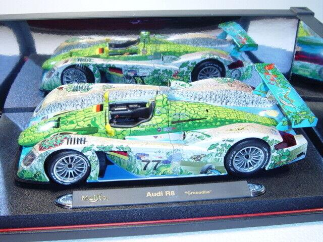 Maisto 35899 Audi R8, ALMS Adelaide 2000, Capello Mc Nish, Nr. 77, 1 18
