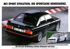 BMW E30 M3 DTM  Motorsport poster print # 9