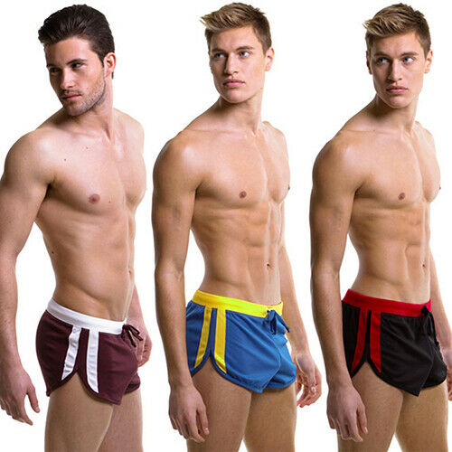 Men's Swimming Swimwear Trunks Sexy Surf Beach Wear Sports Shorts Pants Boil Clothing, Shoes & Accessories