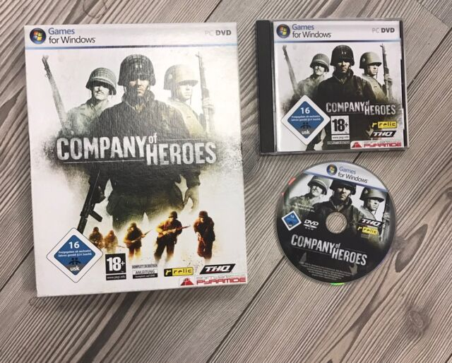 *** Company of Heroes *** PC *** Komplett in BOX *** NEUwertig!!!