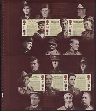 GREAT BRITAIN 2006 VICTORIA CROSS PRESTIGE BOOKLET PANES FINE USED
