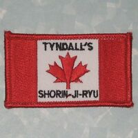 Tyndall's Shorin-ji-ryu Patch - Martial Arts