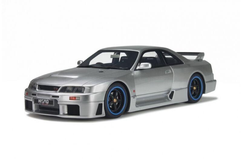 Otto bilene Nissan Skyline R33 Nismo GT -R LM 1 18 Metallic grå