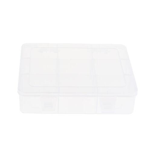 Klar Kunststoff Zubehör Box Stickerei Fall geometrische Halter mit 3 bis 9