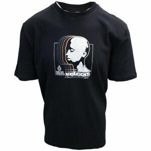 Volcom Men's Black Gridlock BXY Crew S/S T-Shirts (S13)