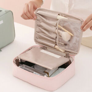 Women-039-s-Fashion-Cosmetic-Bags-Toiletries-Bag-Storage-Case-Make-Up-Pouch