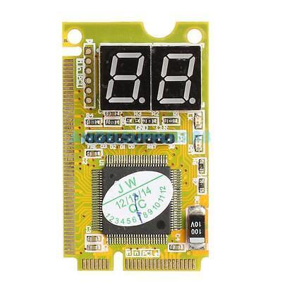 3 in 1 Mini PCI PCI-E LPC PC Analyzer Tester Post Card Notebook Combo Debug Card