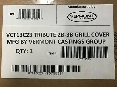 """Outdoor Cooking & Eating Barbecues, Grills & Smokers Vermont Castings Deluxe Bbq Cover For 3-burner """"tribute"""" Series Grills Vct13c23 Refreshment"""