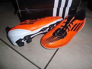 Adidas neue Fußballschuhe F5 TRX weiß/orange (Neonfarben) Größe 38 2/3