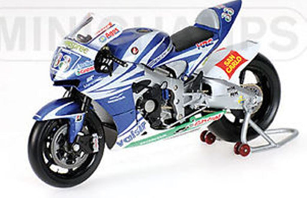 MINICHAMPS 051033 061033 071033 HONDA RC211V no.33 MARCO MELANDRI MotoGP 1 12th