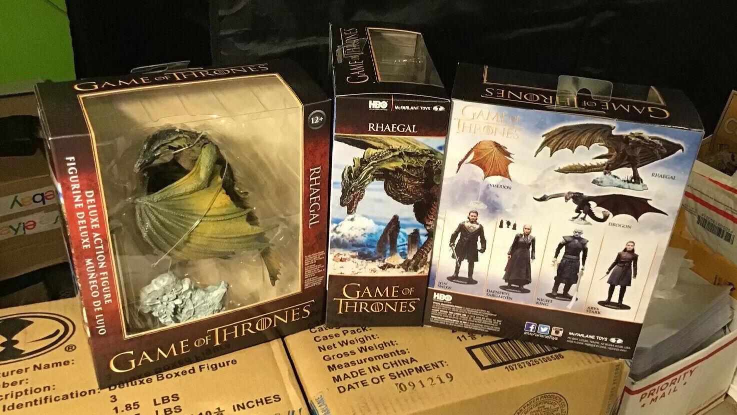 Rhaegal Deluxe Edition Figura da Game of Thrones