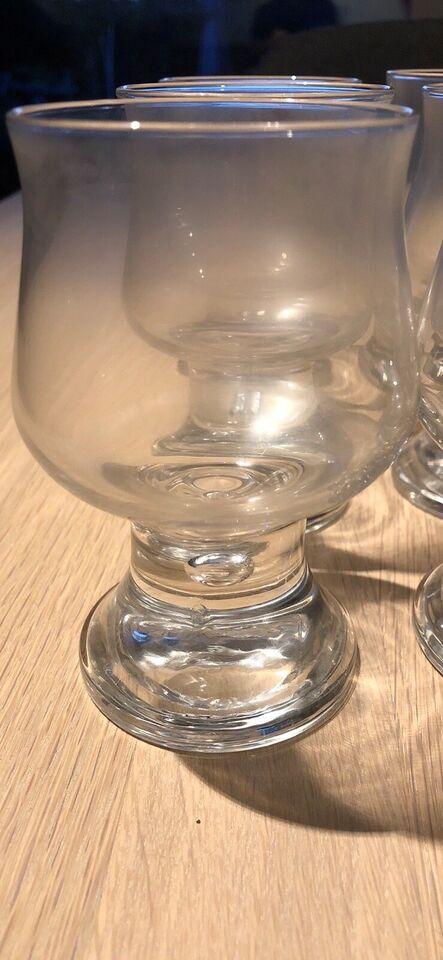 Glas, Rød/hvidvins glas, Holmegaard ballonglas