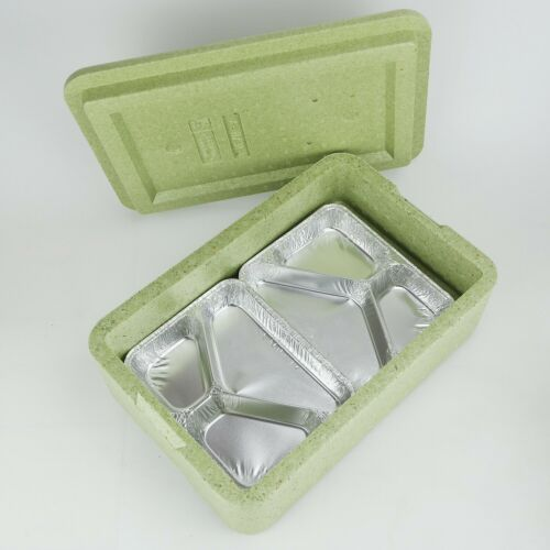 W4 ThermoboxWarmhalteboxMenüboxfür 4 MenüsInnenmaß 370×235×75mm
