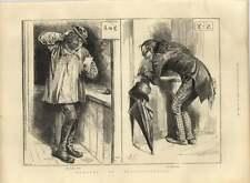 1885 Cabina di polling umorismo, primo e ultimo voti