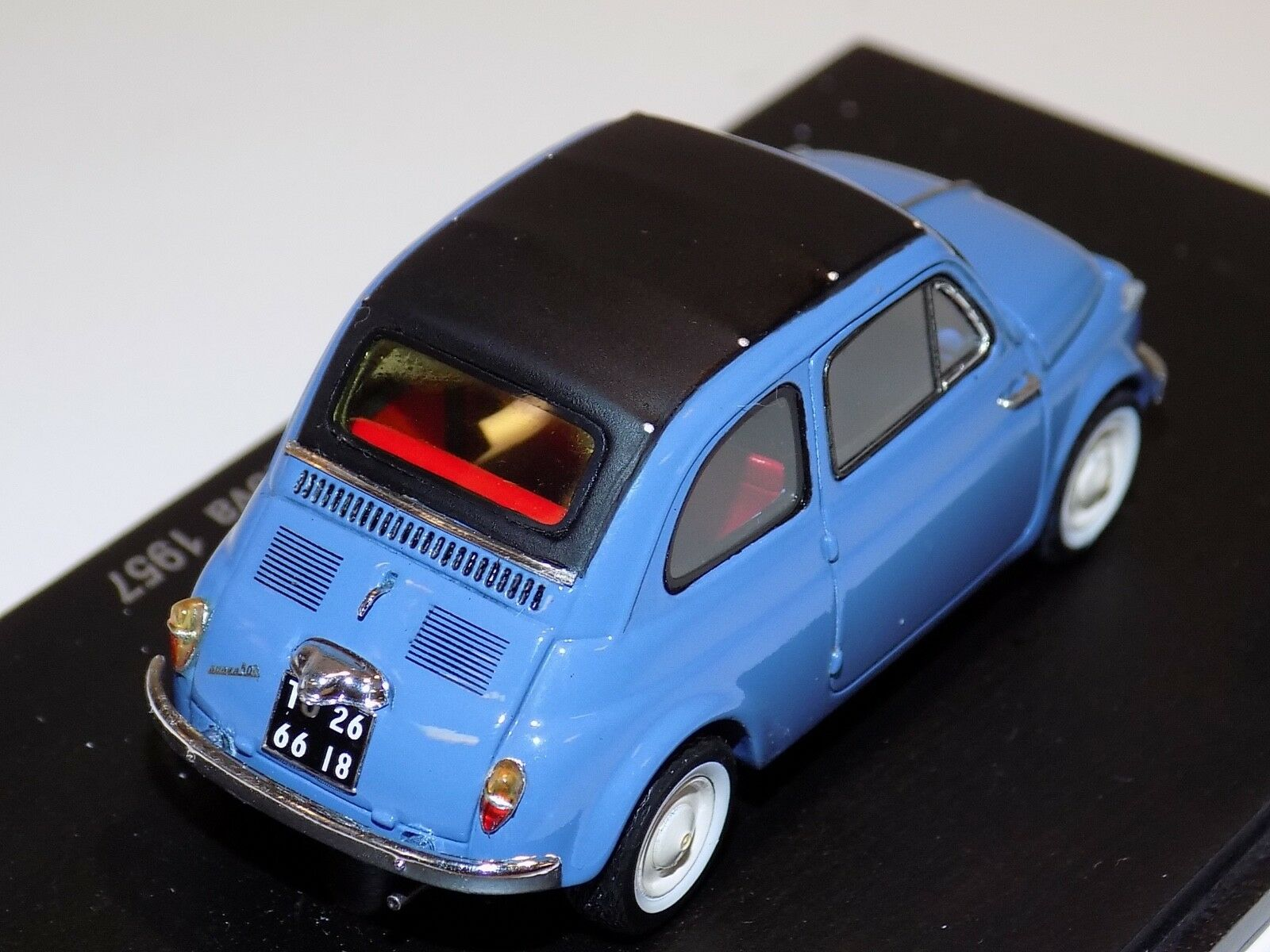 1 43 Spark  Fiat 500 Nuova from 1957 1957 1957 in bluee  S2690 978b5b