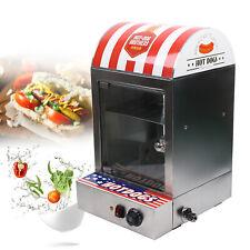 Commercial Electric Hot Dog Steamer Food Bun Warmer Sausage Steamer Warmer