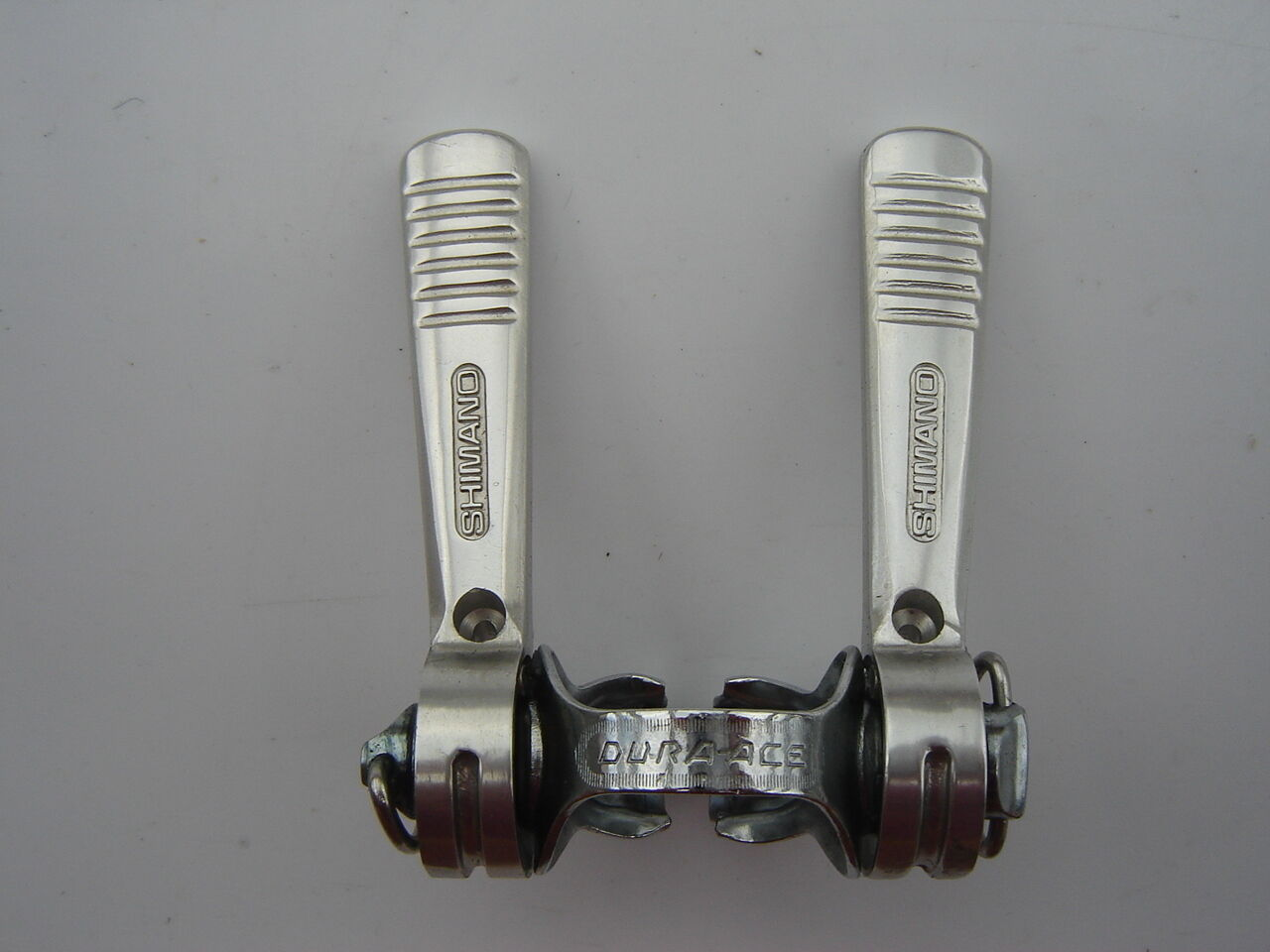 SHIMANO DURA ACE L-284   SL-101 FIRST GENERATION CLAMP-ON SHIFTING LEVERS - NOS