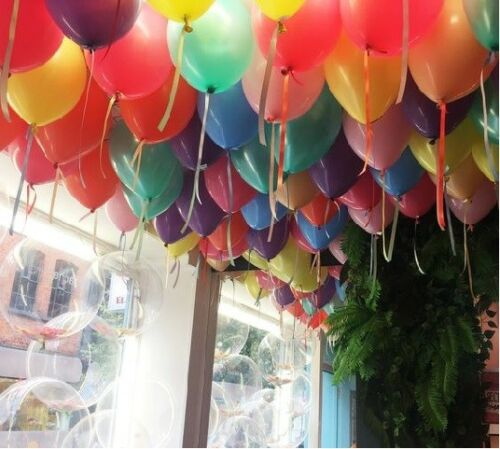 30//50 METERS OF BALLOON CURLING RIBBON FOR PARTY GIFT WRAPPING BALLOONS