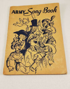 1941-WWII-Army-Song-Book-Booklet-Secretary-of-War-64-Pages