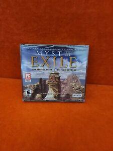 Myst III 3 : Exile (Windows/Mac, 2001) - Sealed