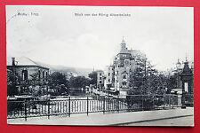 AK AUE im Erzgebirge 1913 Blick von der König Albertbrücke    ( 16006