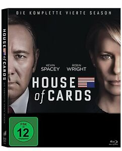 4 Blu-rays *  HOUSE OF CARDS - SEASON / STAFFEL 4  # NEU OVP <