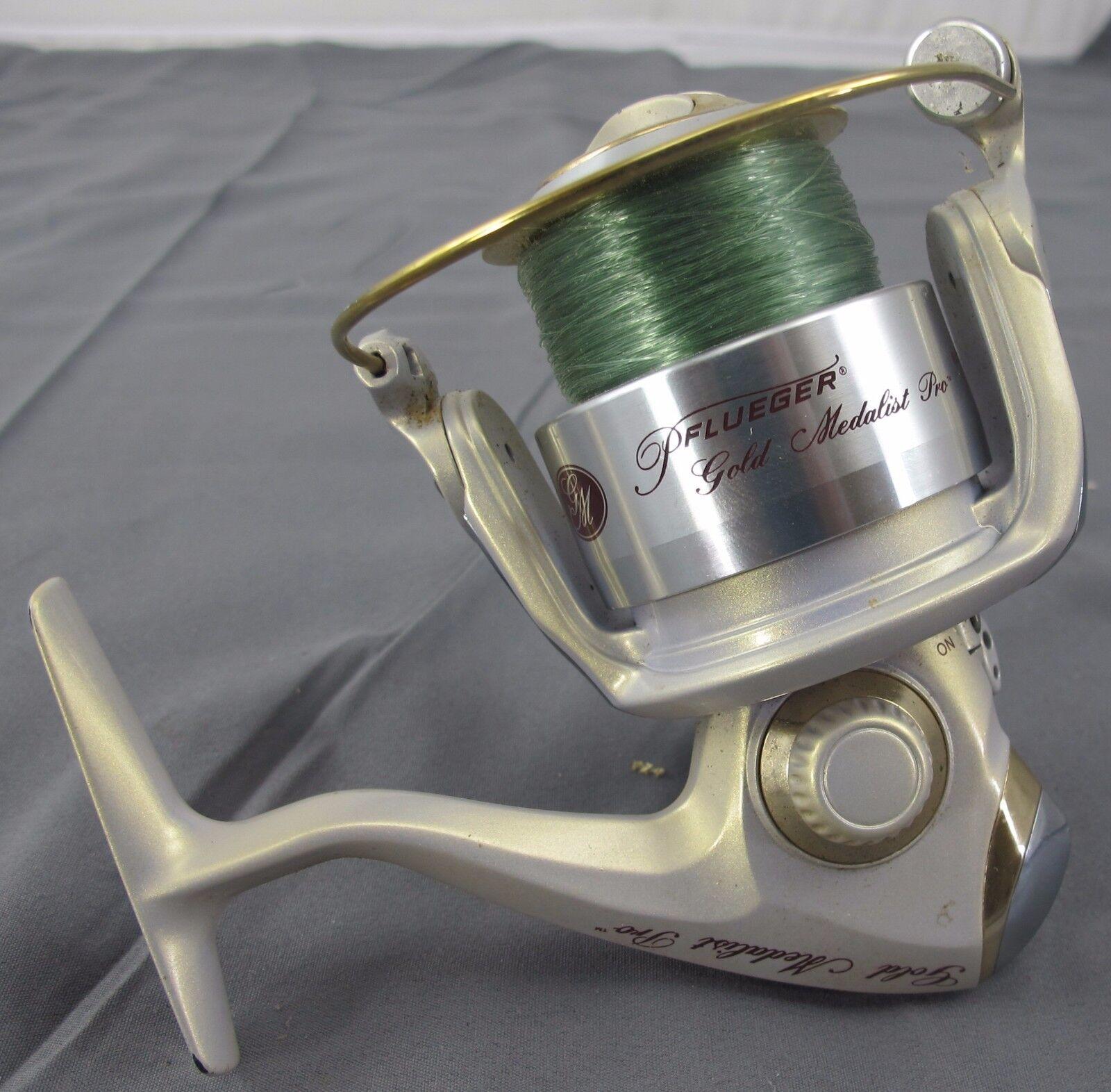 Pflueger oro Medalist Pro Spinning Reel PFLGM840 Gear Ratio 5.2:1 12lb/175yds