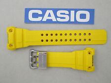 Casio G-Shock Gulfmaster GWN-1000 watch band strap yellow resin rubber