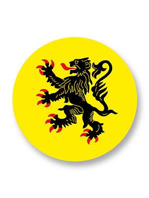 Pin Button Badge Ø38mm Drapeau Flag  Berbere Afrique du Nord