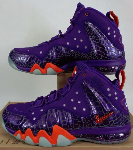 2884720a9bf0e Nike Barkley Posite Max Court Purple Team Orange SNEAKERS Mens Size ...