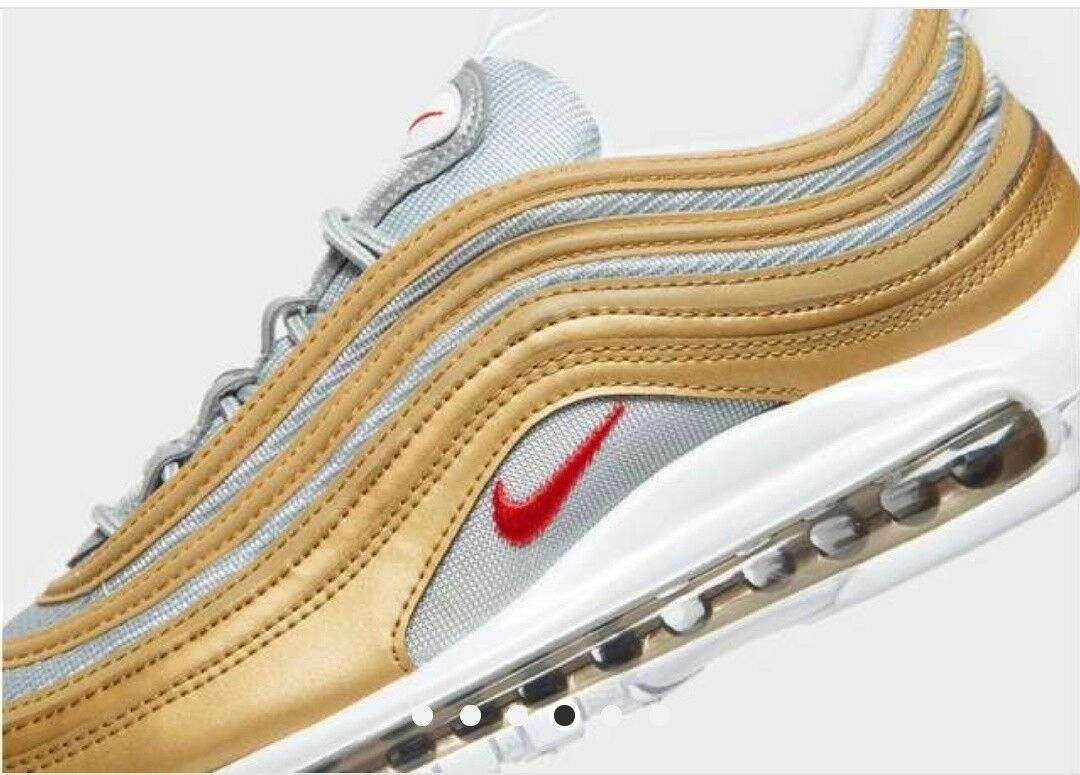 Nike AIR MAX 97 97 97 OG argentoo e oro 2018 SSL DS QS 98 90 95 93 Deluxe TN nuovo con scatola dc772a