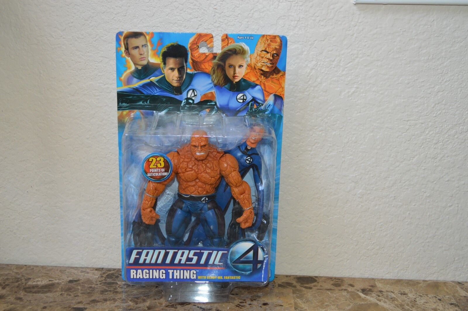 Marvel Legends Fantastic Four 4 Movie Raging Thing MOC Action Figure Toy Biz