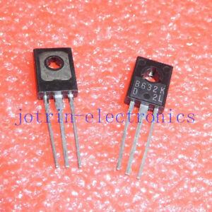 10PCS-2SB632-TO-126-Silicon-PNP-Power-Transistors