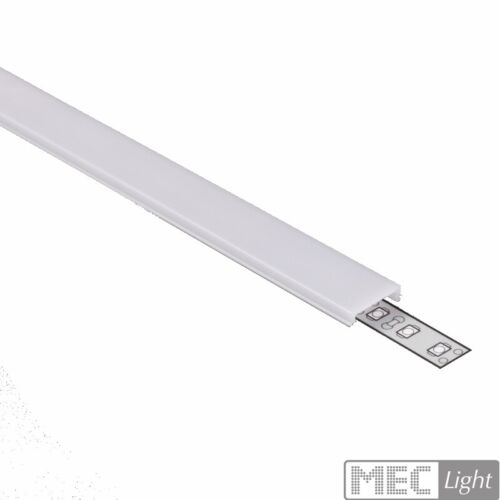 """Schiene /""""STEP/"""" Stufe Treppenstufen-Leiste für LED-Streifen Leiste ALU-Profil"""