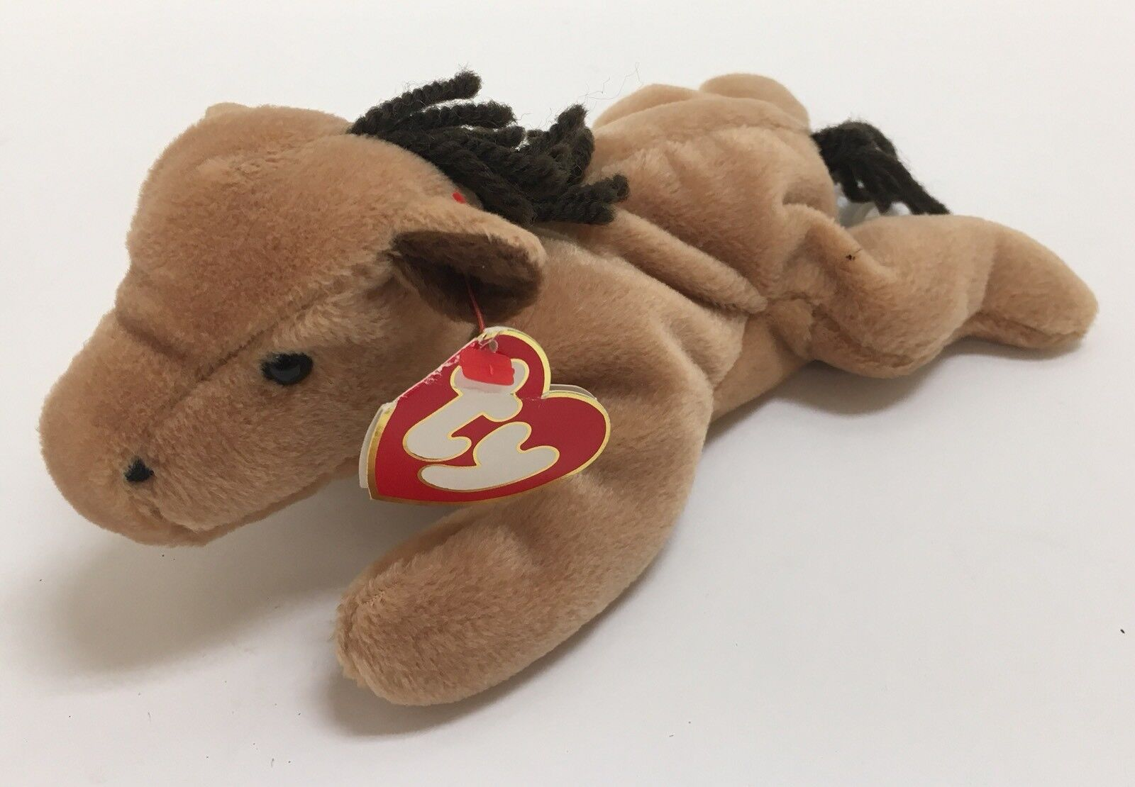"""Ty Beanie Babies """"Derby"""" Horse 3rd   1st Generation"""