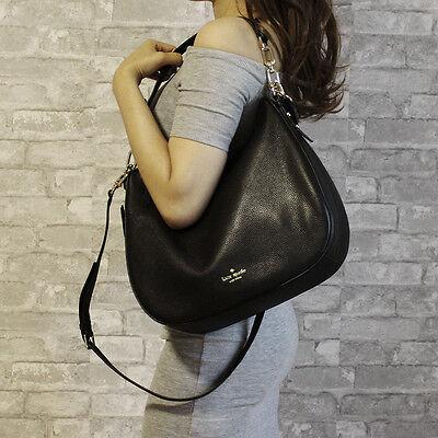 New Kate Spade Mulberry Street Vivian Shoulder Bag Crossbody Black