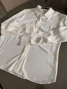 Chemise blouse LOUIS VUITTON taille  38 blanche neuve