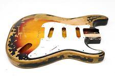 3-Tone-Sunburst US-Erle Goeldo BJA3T Body für Jazz Bass