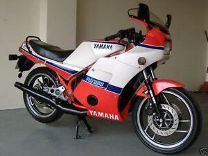 YAMAHA RD350 YPVS WORKSHOP SERVICE MANUAL RD 350   eBay