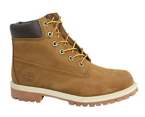 Junior 6 Inch Premium Canvas Boots